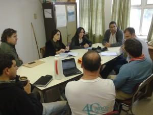 Reunión con representantes del MinCyT