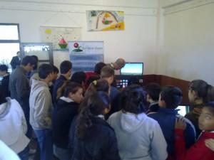 Simuladores Guaraní en Cerrito